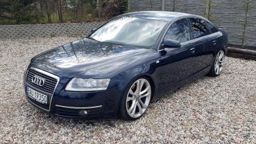 Audi a6 4.2 quatro skóra sedan