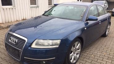 Audi a6 3.2 FSi quatro ruda skóra