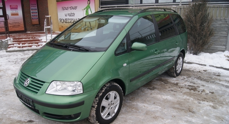 VW Sharan 1.8 Turbo 150KM 7osobowy seriws