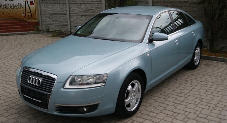 Audi A6 C6 2,4i Manual Sedan Okazja z Niemiec Opłacona Gwarancja