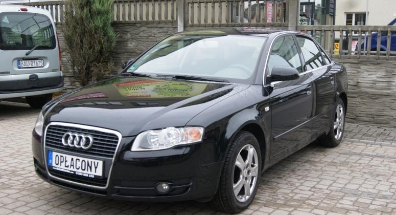 Audi A4 1.6 MPI Czarna Alufelgi Klima Nowy Rozrzad i Opony