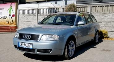 Audi A6 kombi 1.8T LIFT Alufelgi Tempomat Hak