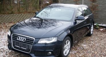 Audi A4 2.0TDI 143KM Model2009 BiXenon Grzane fotele Parktronik Alufelgi Serwis Opłacona