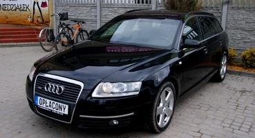 Audi A6 S line alu nawi chrom bluetooth LED* piękna