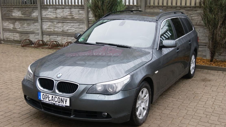 BMW 525i Kombi Duża Nawigacja Skóra Szklany Dach Xenony Opłacona
