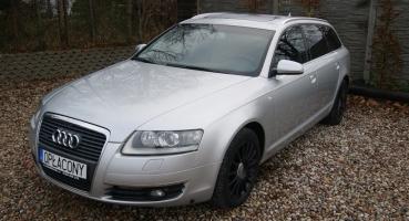 Audi A6 3.0TDI Quattro Automat Szyberdach Skóra Hak Navi Opłacona