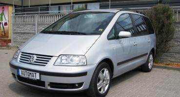 VW SHaran 1.8 turbo TipTronik Skóra Parktronik Xenon