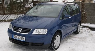 VW Touran 1.9 TDI Hak Komputer 2ręka Tempomat 10xAirBag Opłacony Gwarancja
