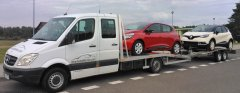 Auto laweta MB Sprinter 315 + laweta - transport 2x nowy Renault